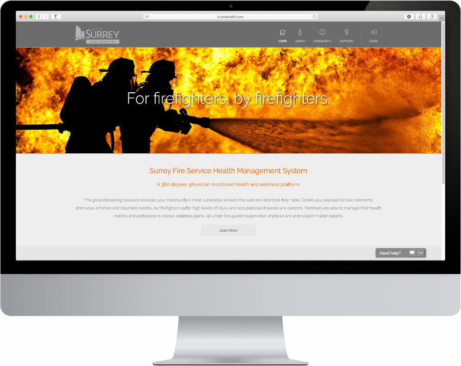 New physician-monitored health and wellness platform for firefighters